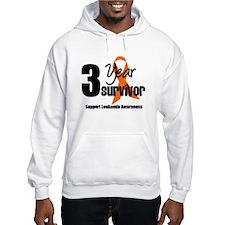 3Year-LeukemiaSurvivor Hoodie Sweatshirt