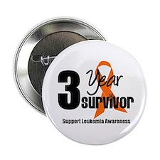 """3Year-LeukemiaSurvivor 2.25"""" Button"""