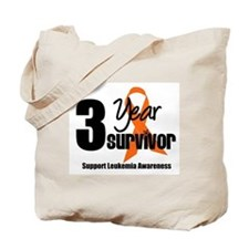3Year-LeukemiaSurvivor Tote Bag