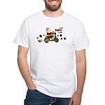 Scootin Santa White T-Shirt