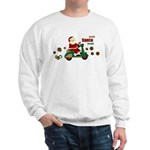 Scootin Santa Sweatshirt