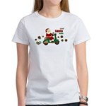 Scootin Santa Women's T-Shirt