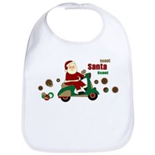 Scootin Santa Bib