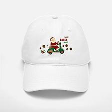 Scootin Santa Baseball Baseball Cap