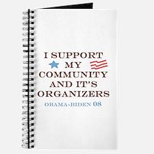 Cool Community organizer Journal