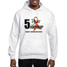 5Year-LeukemiaSurvivor Hoodie Sweatshirt