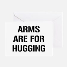 Arms Hugging Greeting Card