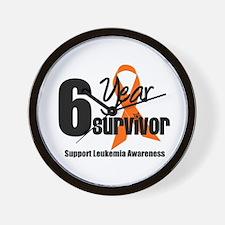 6Year-LeukemiaSurvivor Wall Clock