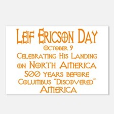 Leif Ericson Day Postcards (Package of 8)