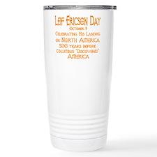 Leif Ericson Day Travel Mug