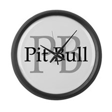 Pit Bull PB Large Wall Clock