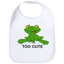 Too Cute Frog Bib