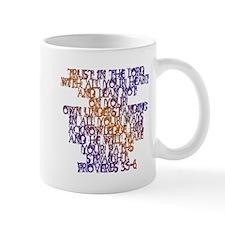 Proverbs 3:5-6 Mug