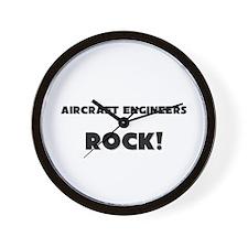 Aircraft Engineers ROCK Wall Clock