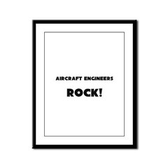 Aircraft Engineers ROCK Framed Panel Print