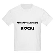 Aircraft Engineers ROCK Kids Light T-Shirt