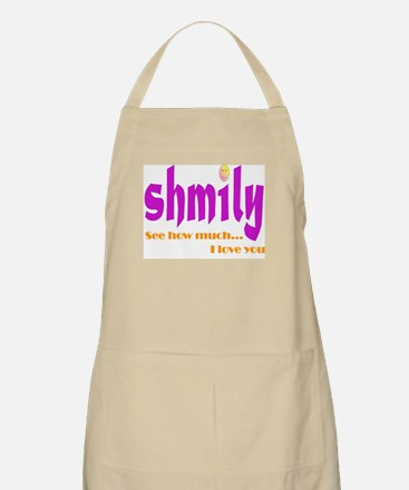 SHMILY Smiley Face BBQ Apron