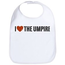 I Love The Umpire Bib