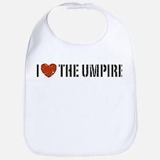 I Love The Umpire Bib