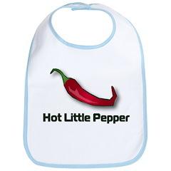 Hot Little Pepper Bib