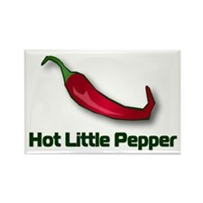 Hot Little Pepper Rectangle Magnet