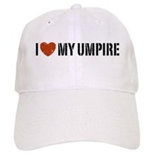 I Love My Umpire Baseball Cap