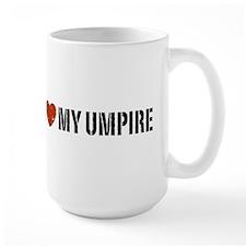 I Love My Umpire Mug