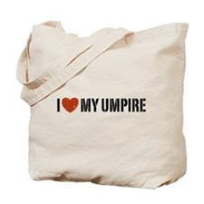 I Love My Umpire Tote Bag