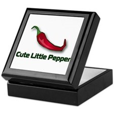 Cute Little Pepper Keepsake Box