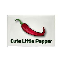 Cute Little Pepper Rectangle Magnet