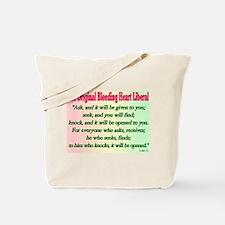Original Bleeding Heart Liberal Tote Bag