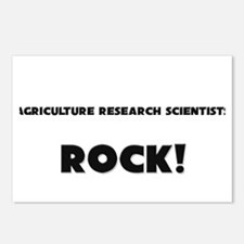 Agriculture Research Scientists ROCK Postcards (Pa