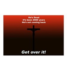 """Get over it!"" Postcards (Package of 8)"