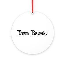 Drow Brigand Ornament (Round)