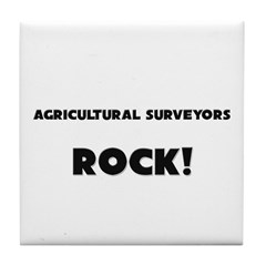 Agricultural Surveyors ROCK Tile Coaster