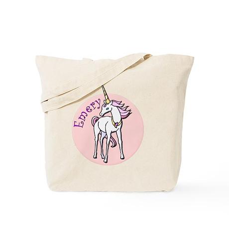 Emery Unicorn Tote Bag