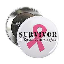 """Breast Cancer Survivor 2.25"""" Button"""