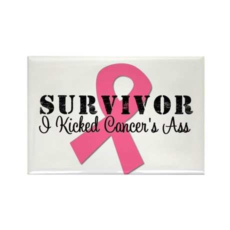 Breast Cancer Survivor Rectangle Magnet