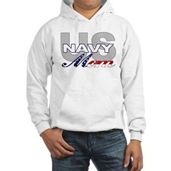 US Navy Mom Hooded Sweatshirt