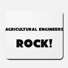 Agricultural Engineers ROCK Mousepad