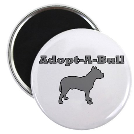 "Adopt-A-Bull 2.25"" Magnet (100 pack)"