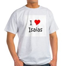 Unique I love isaias T-Shirt