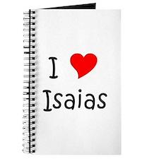 Cute Isaias Journal