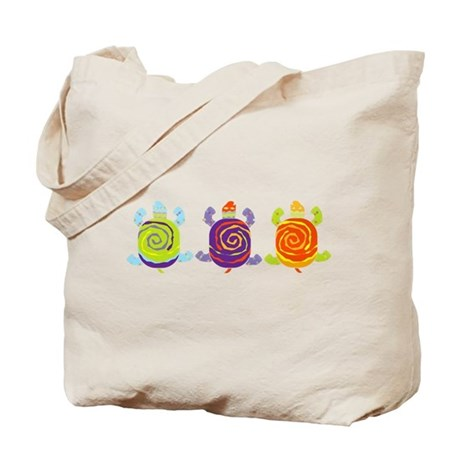 Turtle fun Tote Bag