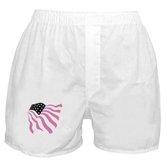 Palin (Pink Flag) Boxer Shorts
