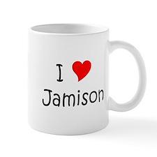 Cute I love jamison Mug