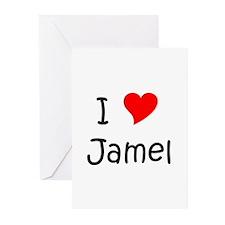 Jamel Greeting Cards (Pk of 20)