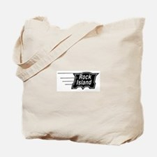 Rock Island Railroad Tote Bag
