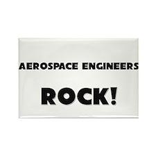 Aerospace Engineers ROCK Rectangle Magnet