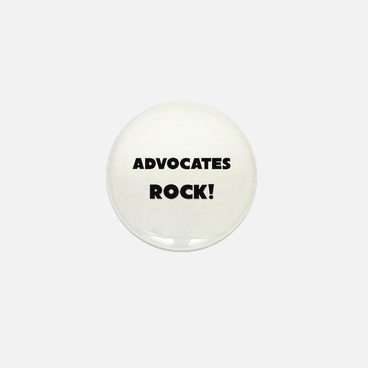 Advocates ROCK Mini Button